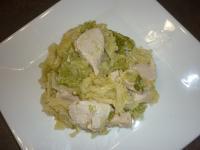 Faites le plein de saveurs : Poêlée de chou au poulet et à la muscade